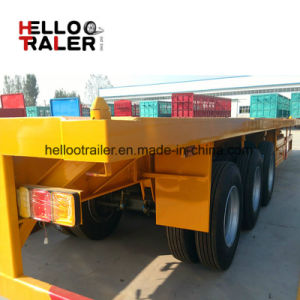 Factory Direct Hot Sale 40FT Flatbed Container Semi Trailer pictures & photos