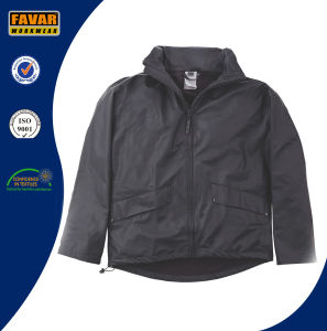 Light Black Waterproof Outdoor Rain Coat