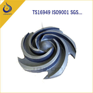 Iron Casting Agricultural Machinery Water Spare Parts Impeller pictures & photos