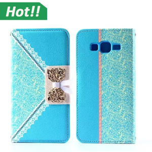 Lovely Luxury Leather PU Flip Case for Samsung Galaxy Grand Prime
