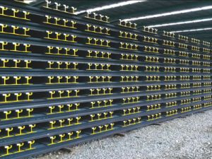 DIN 536 Standard Steel Rail for Railway Building pictures & photos