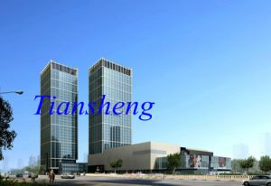 Safety Laminated Glass Aluminium Curtain Wall Supplier pictures & photos