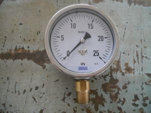Diaphragm Pressure Gauge pictures & photos