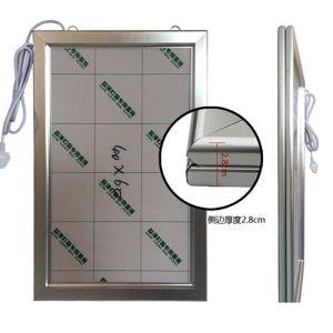 Super Slim LED Image Sign Frame Lighting Box for Board Signs