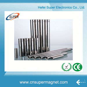 Rare Earth Customized Ni-Cu-Ni Cylinder Magnet pictures & photos