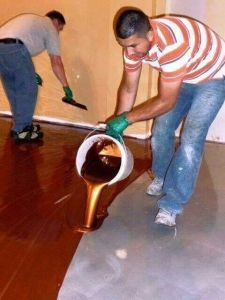 China Top Five Flooring Supplier-Maydos Metallic Epoxy Flooring Resin Coating pictures & photos