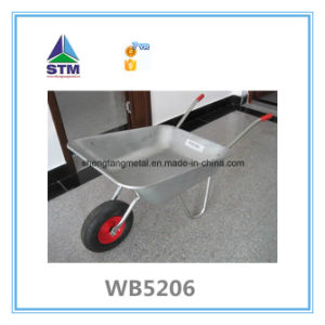 Wb5009 Stainless Pink Color Wheel Barrow pictures & photos