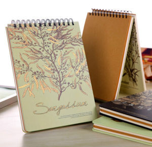 Leather Hardcover Journals with Pen Loop or Elastic Bands pictures & photos