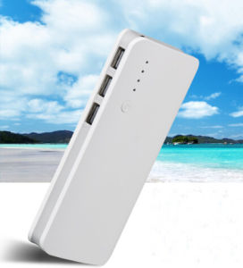 Cheap Three Port, LED Power Bank 16800 mAh pictures & photos