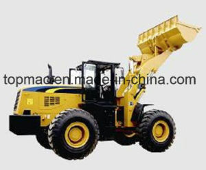 Topmac Brand Wheel Loader Moving Type and Front Loader pictures & photos