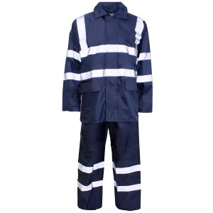 Reflective Rain Wear with ANSI07 Certificate (RW-007) pictures & photos