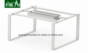 Small Triangular Office Meeting Table with Stainless Steel Leg pictures & photos