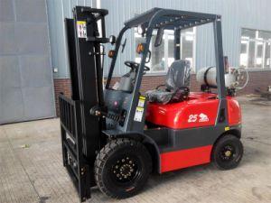Best Quality 2.5ton Gasoline (LPG) Forklift pictures & photos