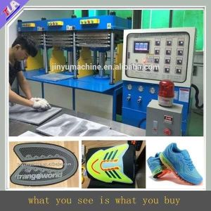 Kpu Shoes Cover Making Machine, Shoes Upper Pressing Machine, Sport Vamp Making Machine in Dongguan pictures & photos