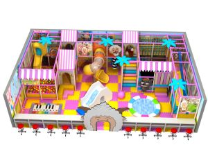 Kaiqi Medium Sized Indoor Soft Play Playground Set - Available in Many Colours (TQBZ201A) pictures & photos