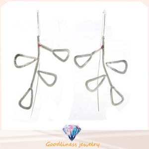 Woman′s Fashion Jewelry and High Quality 925 Silver Earring (E6579) pictures & photos