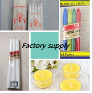 White Household Candles Paraffin Candles (Low Price) pictures & photos