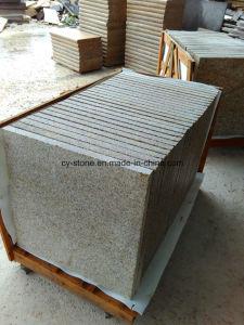 G682 Sunset Gold Granite Bushhammer Border Tiles for Swimming Pool Paver pictures & photos