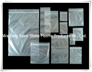 Plain Differeent Size Zipper Bag Ziplock Bag for Industry pictures & photos