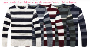 Men′s Knitted Pullover Sweater (0144) pictures & photos