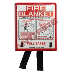 BS En Fiberglass Fire Blanket with PVC Box Package, Xhl13003 pictures & photos