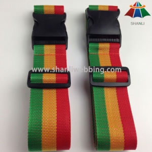 3 Colors Striped Travel Luggage Straps pictures & photos