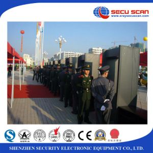 Security Guard Equipment Human Pass Metal Detector for Police pictures & photos