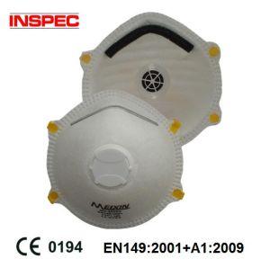 Dust Mask with Valve Ce En149: 2001 + A1: 2009 (MX2005V) pictures & photos