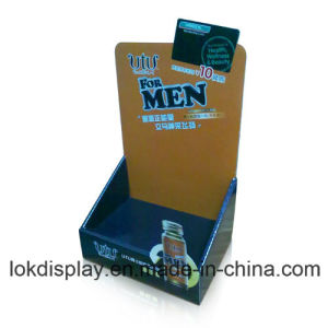 Power Drinks Counter Display Unit, Paper Display Stands pictures & photos