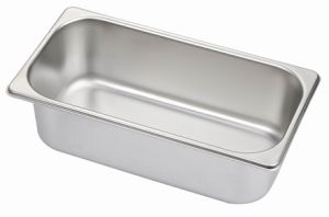 1/3 Stainless Steel Gn Pans, Gastronom Containers, Kitchenwares, Buffet Ware pictures & photos