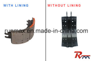 4515q Brake Shoe with Lining for Heavy Truck and Trailer pictures & photos