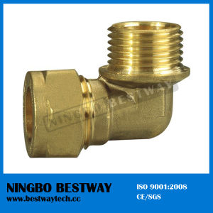 Brass Hex Flange Pipe Fitting Hot Sale (BW-509) pictures & photos