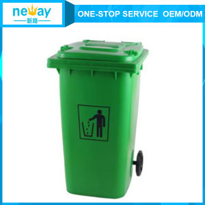 China Manufacturer of Cheap 120L Outdoors Dustbin pictures & photos