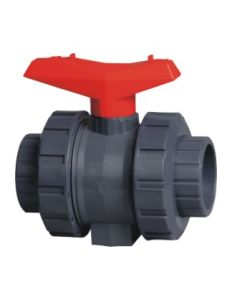 Best Quality UPVC Socket Ball Valve, Industrial Plastic Ball Valve pictures & photos