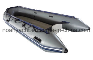 PVC or Hypalon Inflatable Aluminum Rescue Boat pictures & photos