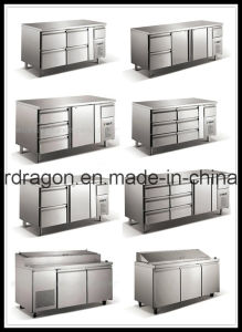 Stainless Steel Counter/Stainless Steel Refrigerator Cabinet pictures & photos