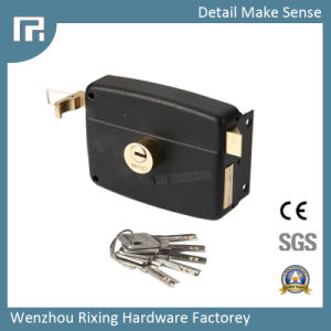 Mechanical Rim Door Lock (5125) pictures & photos