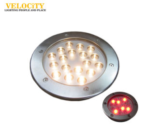 9W/18W 316 Stainless Steel IP68 RGB LED Swimming Pool Underwater Light pictures & photos