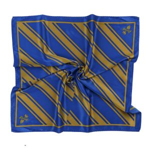 Custom Uniform Scarf Printed Silk and Polyester Formal Stripes Bespoke Logo Brand Label Satin Twill Scarf (LS-40) pictures & photos