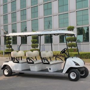 New Type 6 Seats China Electric Golf Car with CE (DG-C6) pictures & photos