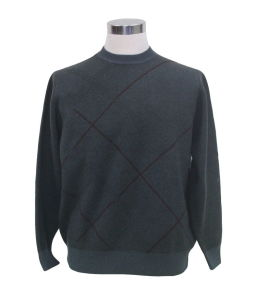 Yak Wool/Cashmere Round Neck Pullover Long Sleeve Sweater/Garment/Clothes/Knitwear pictures & photos