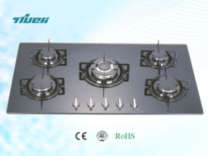 Black Tempered Glass Built-in Gas Hob/Trg5-902