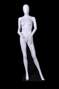 Cream White Full-Body Female Mannequins, Female Mannequins for Window Display pictures & photos