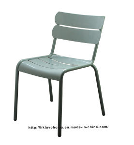 Dining Restaurant Coffee Luxembourg Stacking Steel Side Chair pictures & photos