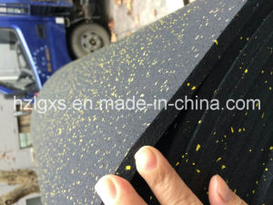 Colored EPDM Granules Gym Rubber Flooring Rolls pictures & photos