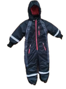 Black Hooded Reflective Waterproof Jumpsuits/Overall/Raincoat pictures & photos