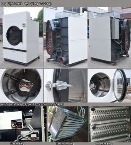 Professional Industrial Steam Heated Commercial Clothes Dryer Laundromat Machine Price pictures & photos