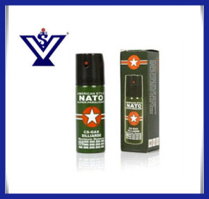 60ml CS Military Tactical Tear Gas Spray for Police (SYSG-167) pictures & photos