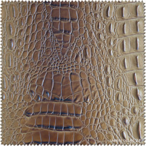 Embossed Pringting PU Leather Faux Leather for Shoes, Bag (BD004070) pictures & photos