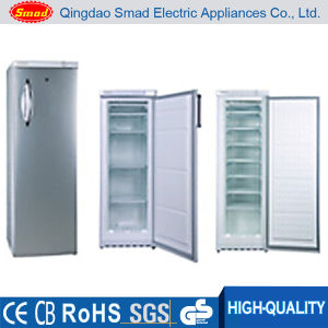 Hot Selling Manual Defrost Silver Ice Cream Deep Upright Freezer pictures & photos